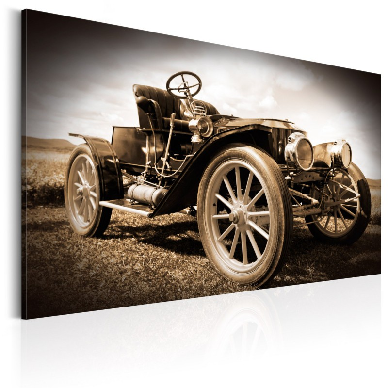 Obraz  Zabytkowy samochód