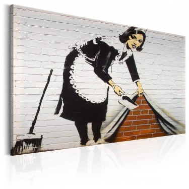 Obraz  Maid in London by Banksy