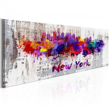 Obraz  Miasto artystów