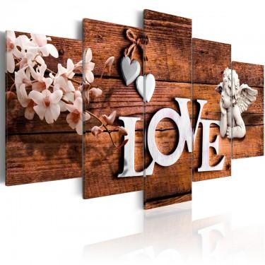 Obraz  Dom miłości
