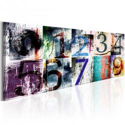 Obraz Kolorowe numery