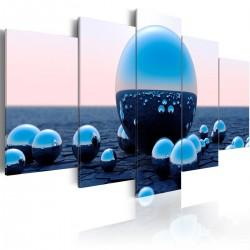 Obraz - Pływające kule
