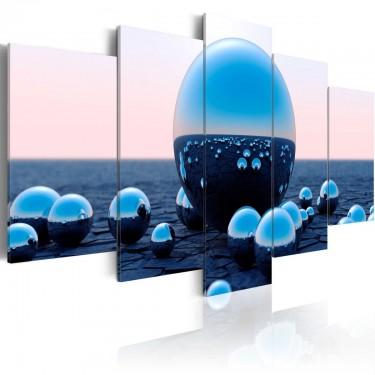 Obraz  Pływające kule