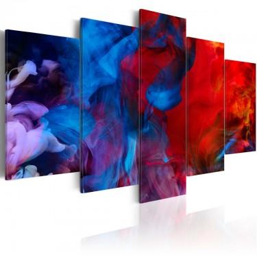 Obraz  Taniec kolorowych płomieni