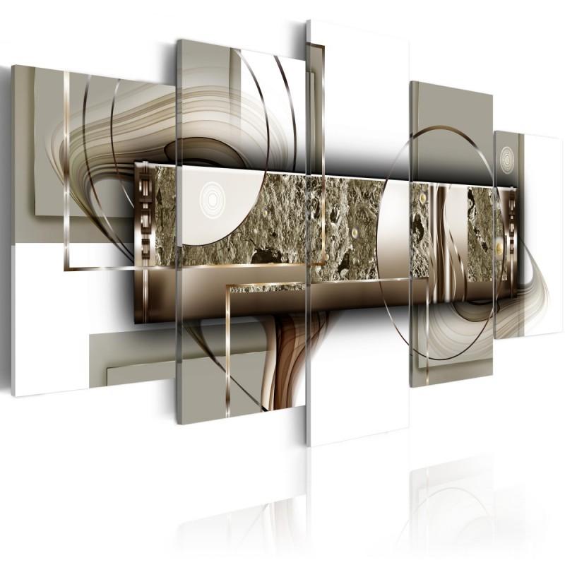 Obraz  Struktura złota