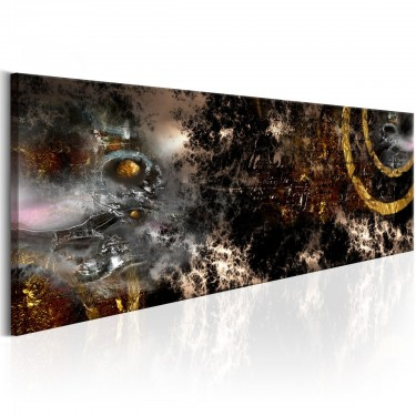 Obraz  Złota galaktyka