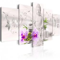 Obraz - Biały Budda