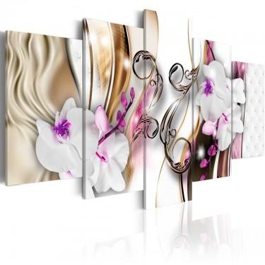 Obraz  Orchidee różowe kwiaty