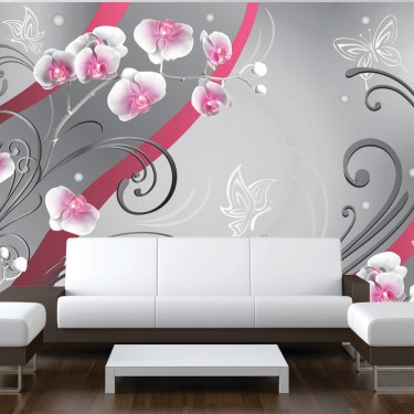 Fototapeta  Różowe orchidee  wariacja