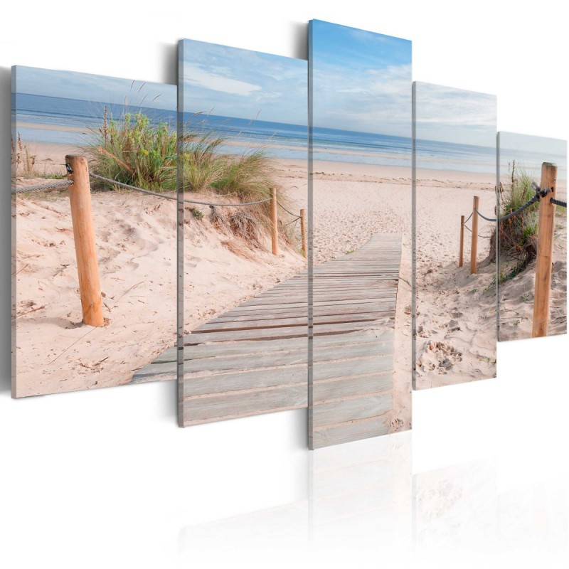Obraz  Poranek na plaży