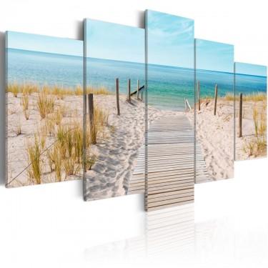 Obraz  W stronę morza