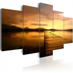Obraz Wyspa zachodzącego słońca