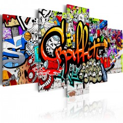 Obraz  Kolorowy styl