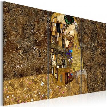 Obraz  Klimt inspiracje  Pocałunek