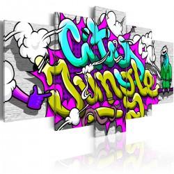 Obraz  Miejska dżungla