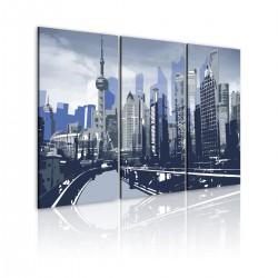 Obraz - Krajobraz miejski Szanghaju