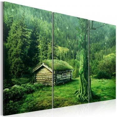 Obraz  Ekosystem leśny