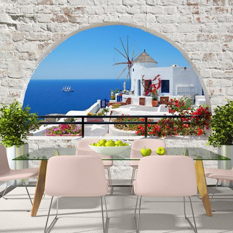 Fototapeta  Lato na Santorini