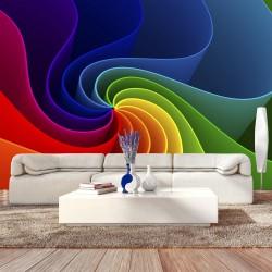 Fototapeta Kolorowy wiatraczek