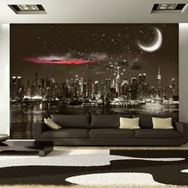Fototapeta  Gwiezdna noc nad NY