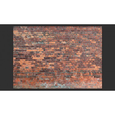 Fototapeta  Vintage Wall (Red Brick)