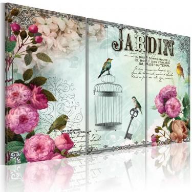 Obraz  Jardin