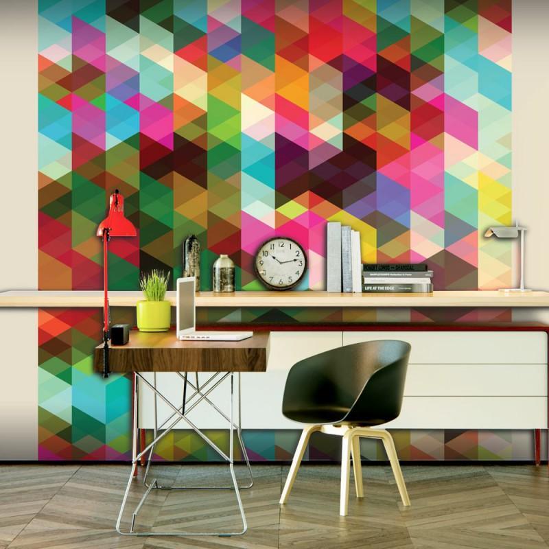 Fototapeta  Kolorowa geometria
