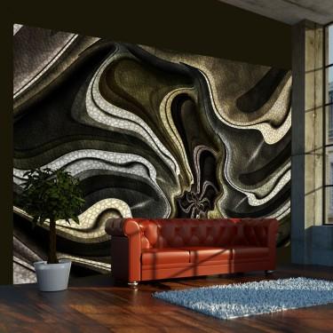 Fototapeta  Green and brown textured fractal