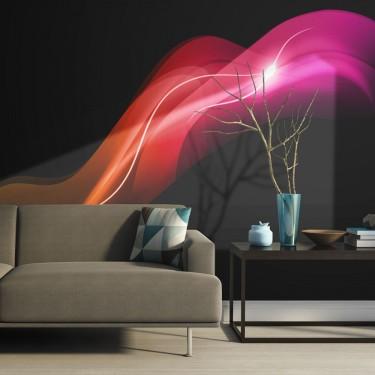 Fototapeta  Abstract colorful jellyfish