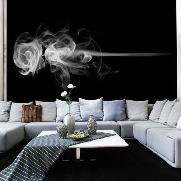 Fototapeta  róża (dym)