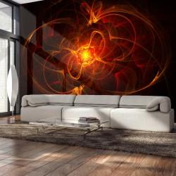 Fototapeta Abstract fire