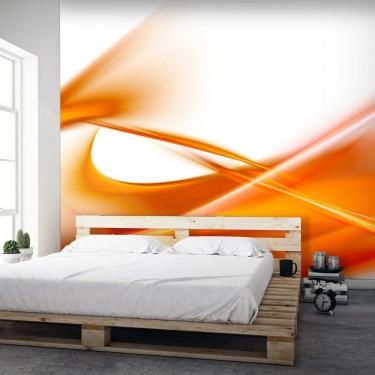 Fototapeta  abstrakcja  pomarańczowy