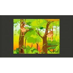 Fototapeta  dżungla  małpy