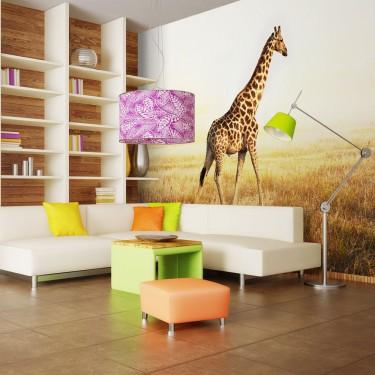 Fototapeta  żyrafa  spacer