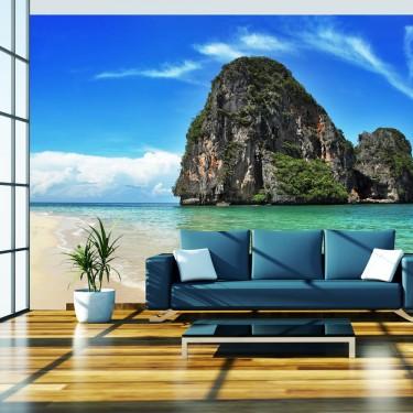 Fototapeta  Egzotyczny krajobraz  plaża Railay, Tajlandia