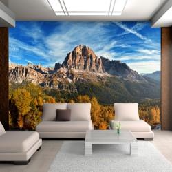 Fototapeta Widok panoramiczny na włoskie Dolomity