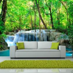 Fototapeta Erawan Falls, Kanchanaburi, Thailand