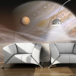Fototapeta - Mała i duża planeta