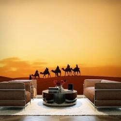 Fototapeta W karawanie przez Saharę