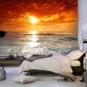 Fototapeta Bajkowy zachód słońca
