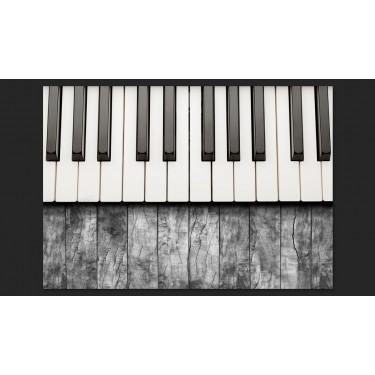Fototapeta  Zainspirowane Chopinem  szare drewno