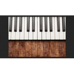 Fototapeta  Zainspirowane Chopinem  mahoń