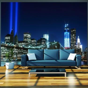 Fototapeta  Floodlights over NYC