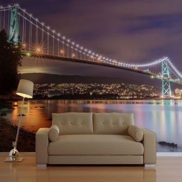 Fototapeta  Lions Gate Bridge  Vancouver (Kanada)