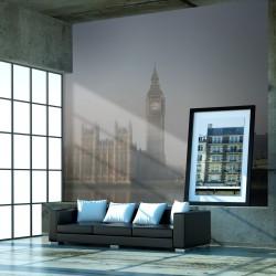 Fototapeta Pałac Westminsterski we mgle, Londyn