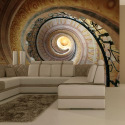 Fototapeta - Decorative spiral stairs