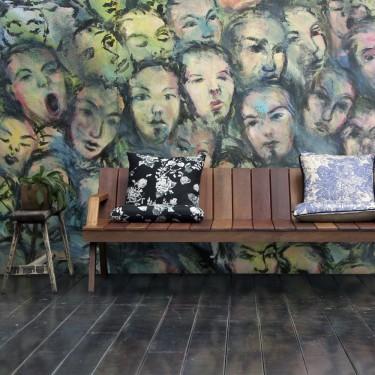 Fototapeta  Berlin wall art