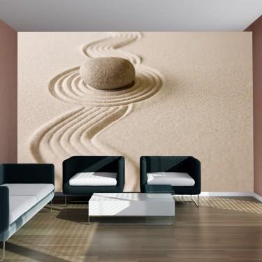 Fototapeta  Zen sand garden