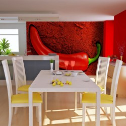 Fototapeta - Red hot chili pepper
