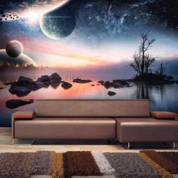 Fototapeta - Kosmiczny pejzaż